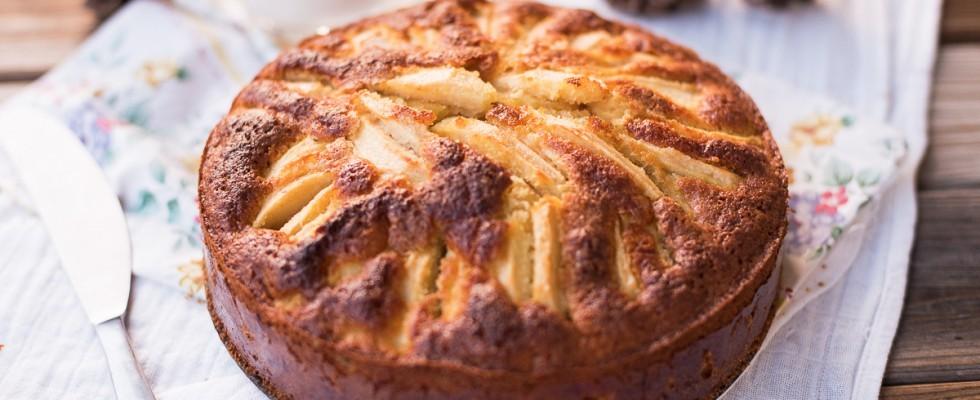 Torta di mele renette senza glutine