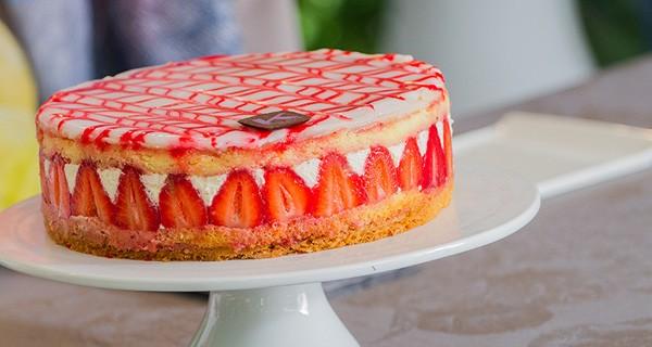 Torta Fraiser di Ernst Knam: la ricetta per Bake Off Italia 3