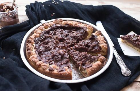 Torta mascarpone e nutella: fine pasto al cioccolato