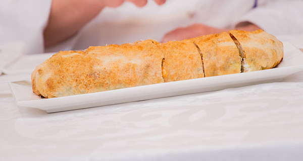 Salziger Weiner Strudel: la ricetta di Ernst Knam per Bake Off Italia 3