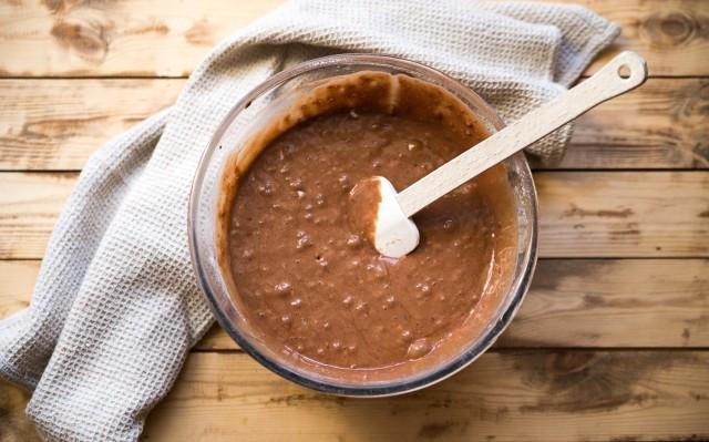 Torta al cioccolato senza uova step (3)
