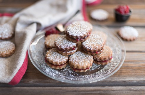Biscotti al grano saraceno, per l'inverno