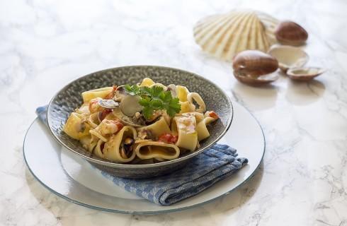 Calamarata ai frutti di mare: sapore intenso