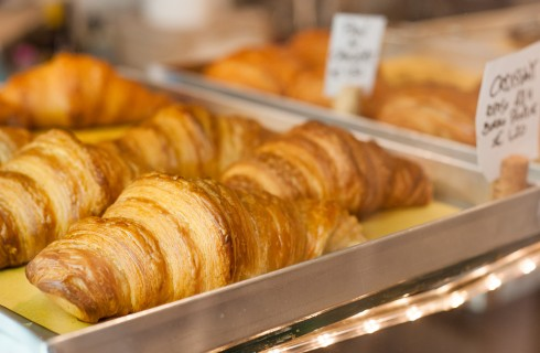Il croissant francese secondo Severance a Roma