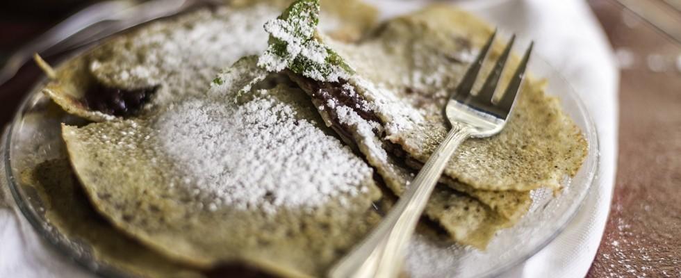 Crêpes al grano saraceno, senza glutine