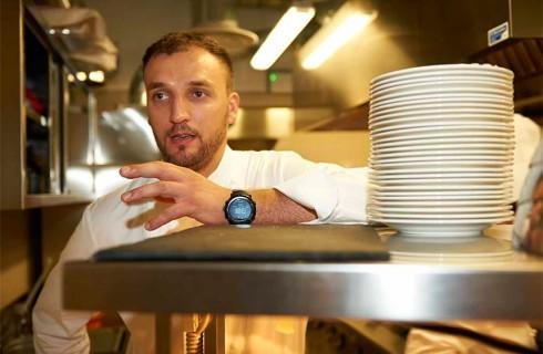 Danilo Ciavattini, chef e musicista al Roma Jazz Festival