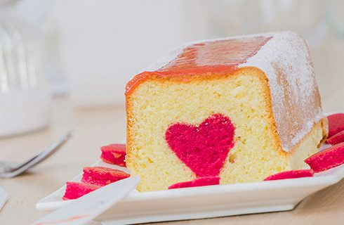 Dolce con sorpresa di Patrizia: la ricetta romantica di Bake Off Italia 3