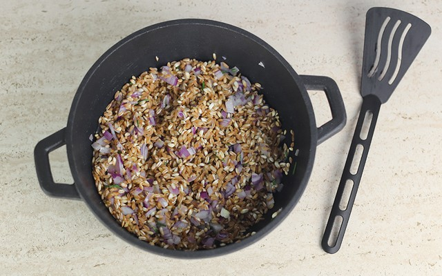minestra di farro step (2)