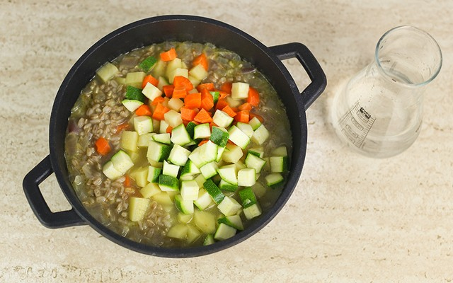minestra di farro step (5)