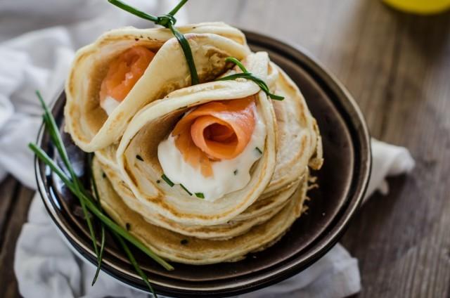 pancake-9 salmone