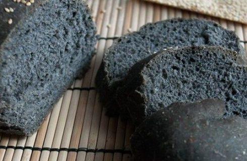 Il pane al carbone vegetale con la ricetta facile