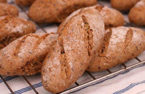 Il pane con i semi di lino da fare con il Bimby