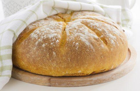 Come fare il pane di zucca con lievito madre