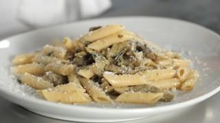 Pasta con i carciofi, semplice e saporita