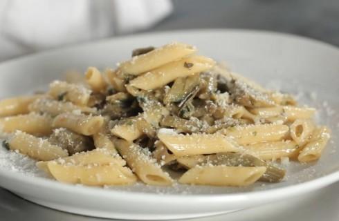 Pasta ai carciofi, semplice e saporita