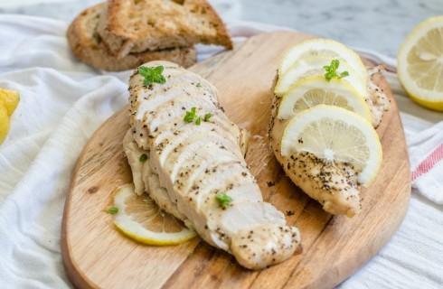 Petto di pollo al limone al forno
