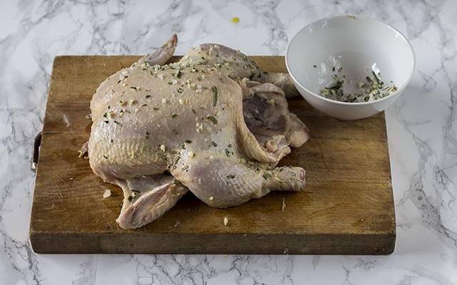 pollo allo spiedo step4