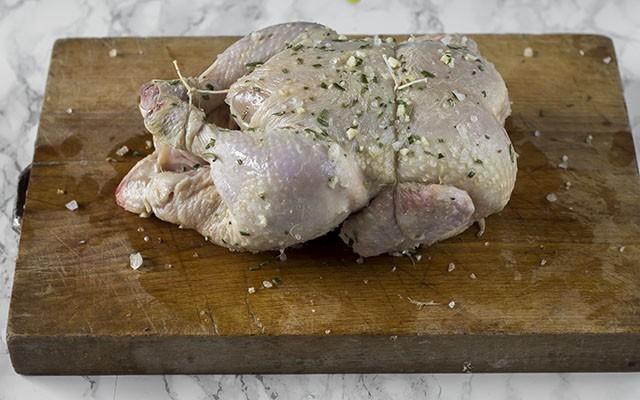 pollo allo spiedo step5