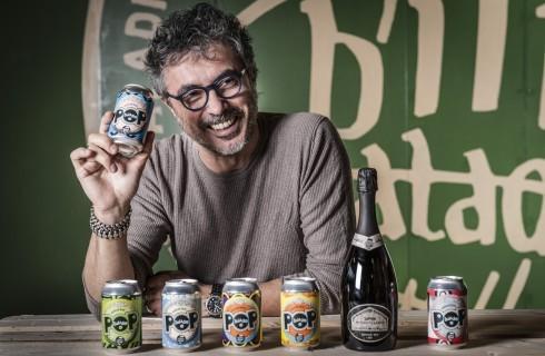 Teo Musso presenta la birra artigianale italiana in lattina