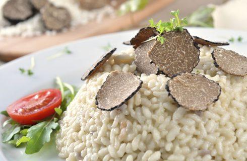 Come cucinare il risotto al tartufo nero
