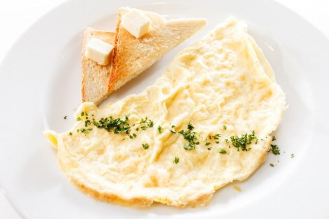 omelette di albume