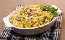 Tagliatelle lardo e porcini: la ricetta gustosa