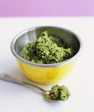 Pesto di broccoli, variante gustosa