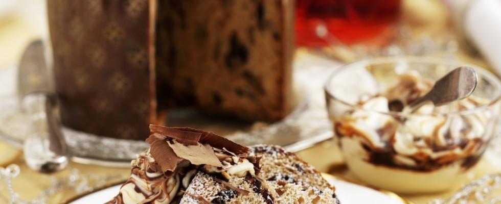 Panettone al cioccolato fatto in casa