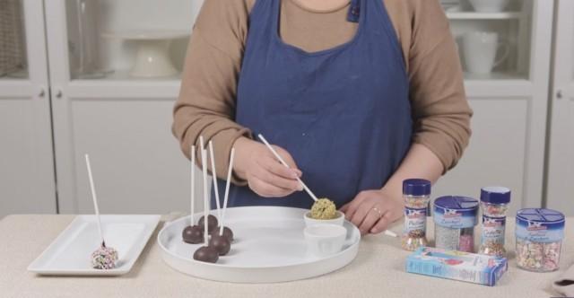 Cake pops Funfetti 2