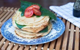 Crêpes senza uova: vegane