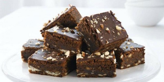 brownies al torrone