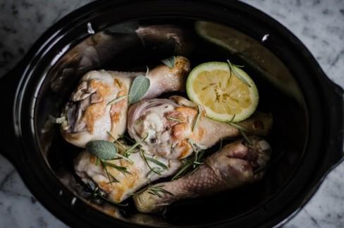 Pollo profumato alle erbe e limone (2)