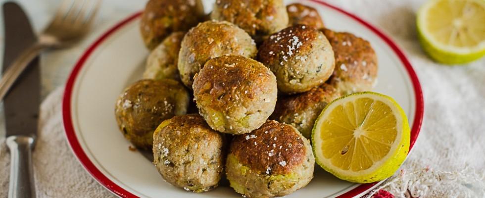 Polpette di alici e patate