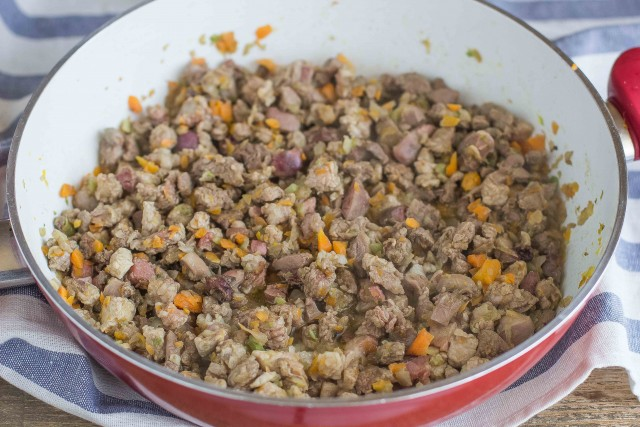 Step 3 vincisgrassi