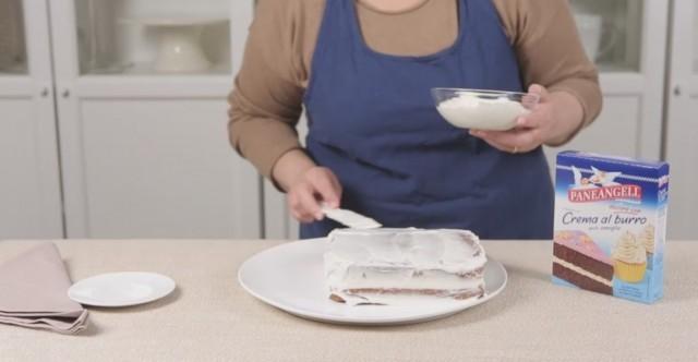 Torta volpina step 1