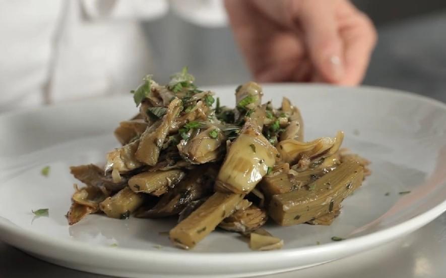 Carciofi trifolati contorno tradizionale agrodolce for Carciofi ricette