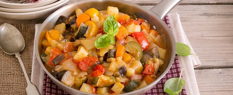 Cianfotta di verdure, cucina napoletana