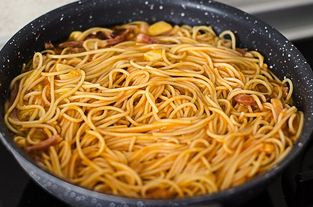 frittata di pasta-4
