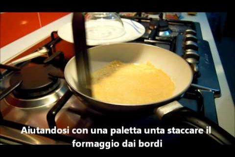 Cestino croccante di parmigiano