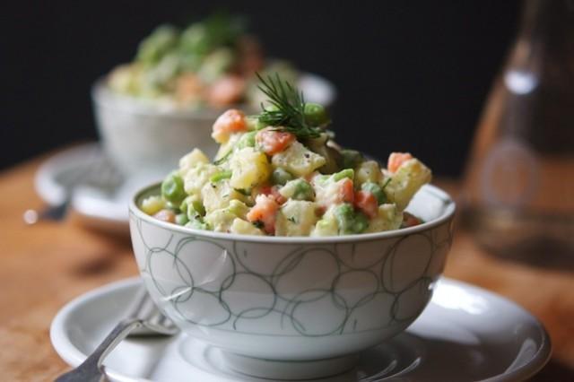 insalata russa vegana