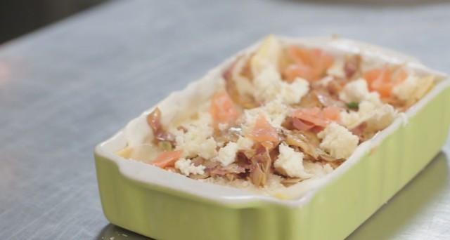 lasagna carciofie salmone 17