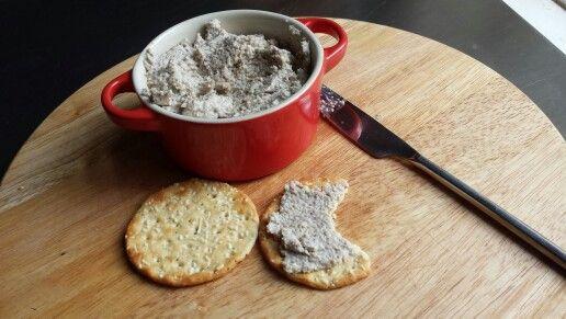 Il patè di funghi porcini con la ricetta per il Bimby