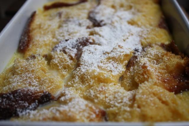 pudding pandoro