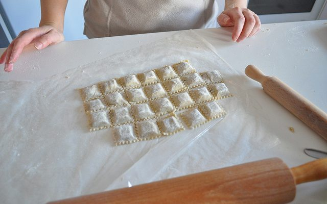 La ricetta per preparare i ravioli a Natale