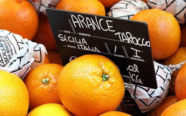 Risotto alle arance, pere e toma blu: la ricetta di Sergio Barzetti
