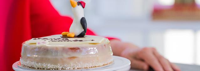 Sacher bianca: la ricetta di Junior Bake Off Italia