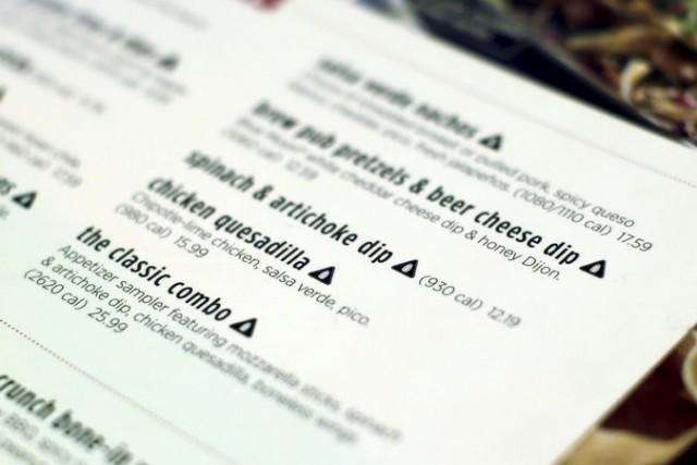 sale sui menu