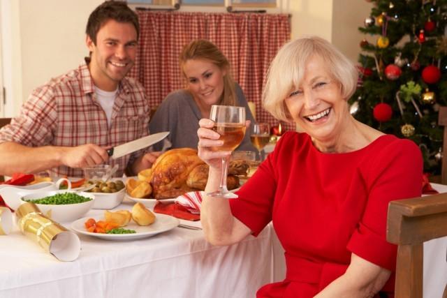 cena coi parenti