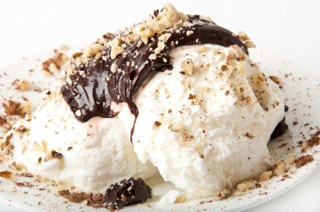 gelato al torrone