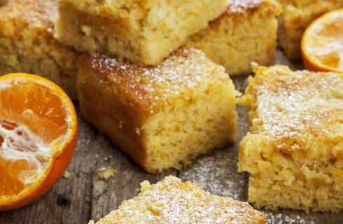 Torta al mandarino soffice